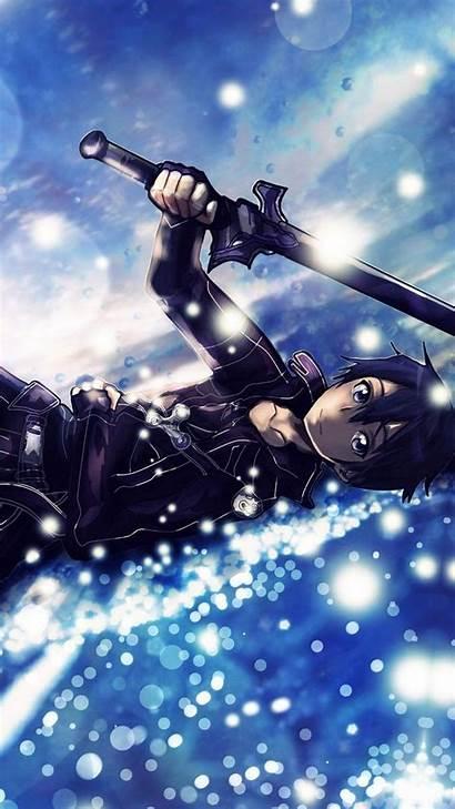 Sword Anime Wallpapers Iphone Kirito Sao 6s