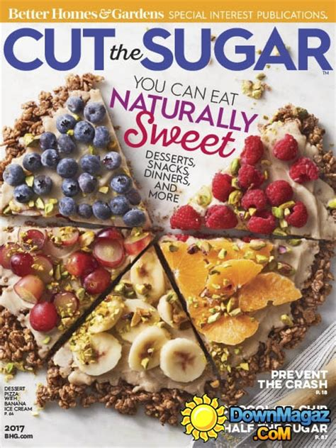 better homes and gardens usa cut the sugar 2017