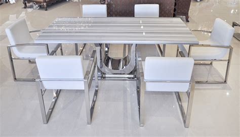 modern pedestal uscio iv marble dining table 79 quot white lines