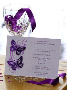 pretty pink black butterflies blank invitation