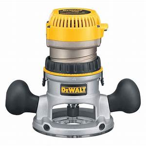 DEWALT 1 75 HP Fixed Base Router-DW616 - The Home Depot