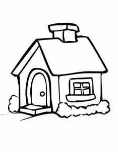 Haus Strichzeichnung Einfach : haus malvorlagen kostenlos zum ausdrucken ausmalbilder haus druckfertig of haus zum ausmalen ~ Watch28wear.com Haus und Dekorationen