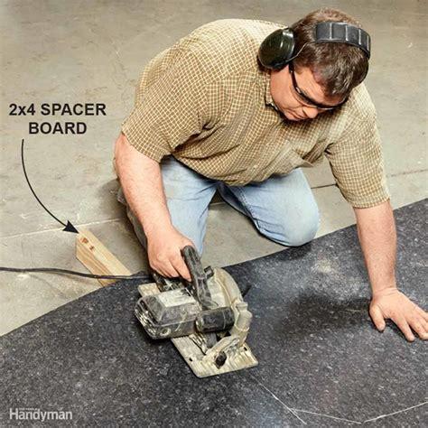 best saw to cut laminate countertop installing laminate countertops the family handyman