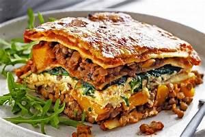 Pumpkin, Spinach And Lentil Lasagne Recipe Taste com au