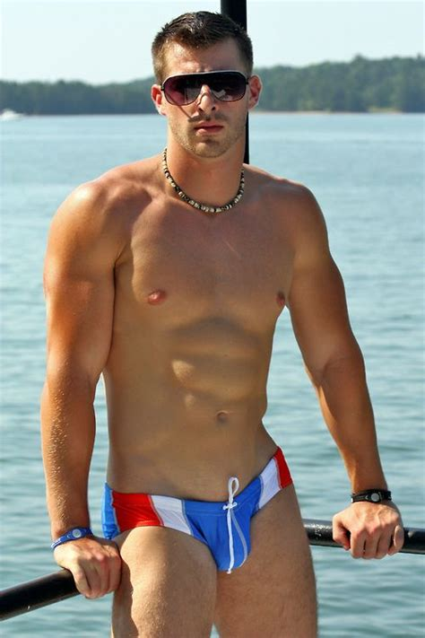 Hot Gay Swimsuit | My Style | Pinterest | Red white blue ...