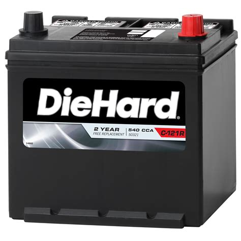 Without a healthy battery, your trusty ride isn't very useful. DieHard Automotive Battery - Group Size EP-121R (Price ...
