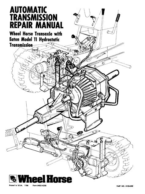 eaton 11 wheel automatic transmission service manual transmission mechanics valve