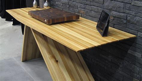table de cuisine en bois table bois hickory wraste com