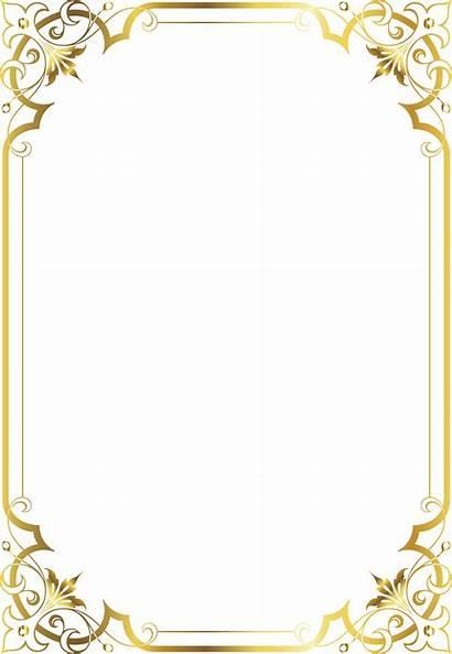 Certificate Border Frame Templates Printable Transparent Nicepng