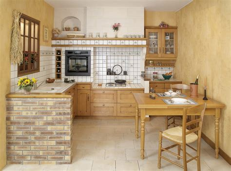 cocina rustica en forma de  imagenes  fotos