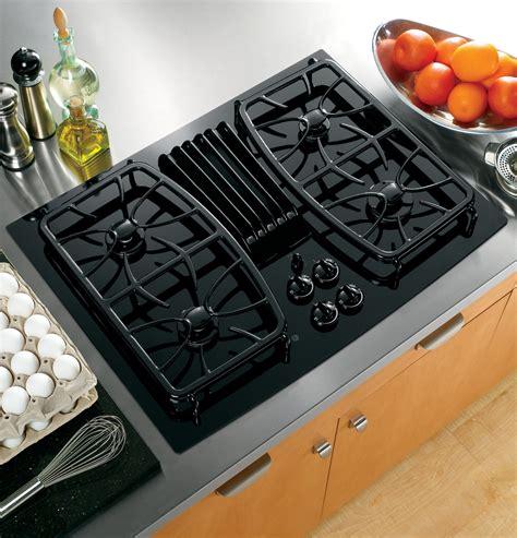 ge profile series  built  gas downdraft cooktop pgpdnbb ge appliances