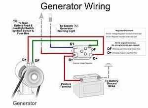 vw alternator vw generator vw starter With 1973 vw beetle generator wiring