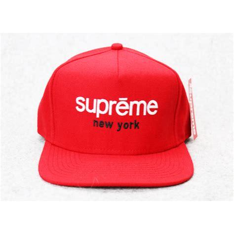 Shop Supreme Hats - supreme ny box panel snapback hat
