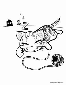Cute Kitten Coloring Pages Hellokidscom