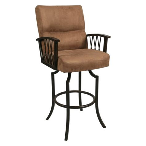 furniture the best choice of swivel bar stools with arms