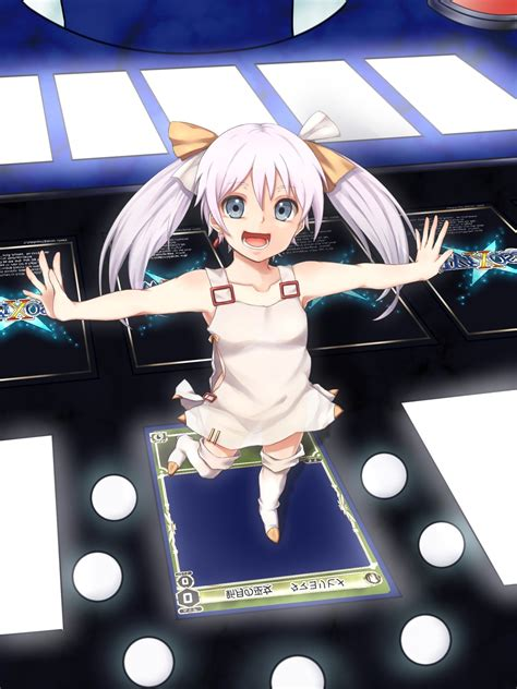tama selector infected wixoss twintails white hair