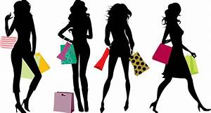 Pics For > Shopping Silhouette Png