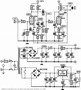 single ended el84 hifi ef86 preamp power up 250 pins With this is the schematic diagram of quotspunky39squot preamplifier circuitry