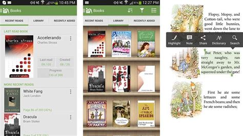 ebook reader for android free 15 best ebook reader apps for android android authority