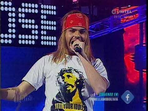 axl rose you could be mine yo me llamo sin fronteras viernes 29 axl rose you could