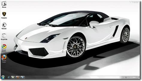 Car Wallpapers For Windows 7 by Free Windows 7 Lamborghini Car Themes And Wallpapers