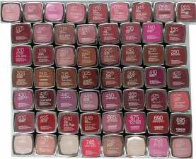 Discontinued Maybelline Lipstick Colors