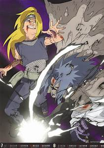 Naruto Shippuuden images Deidara vs. Sasuke HD wallpaper ...