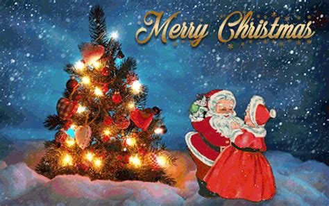 Santa Claus Animated Wallpaper - 20 great santa claus animated wishes gif images