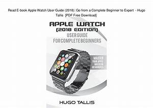Apple Watch User Guide Download Pdf
