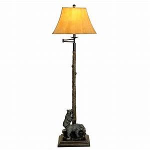 bear floor lamp With floor lamp with bear
