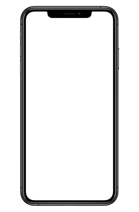 Apple iPhone XS transparent mobile - Search Png
