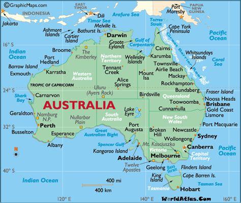 Carte Australie Ville by Australia Map Country Region Map Of World Region City