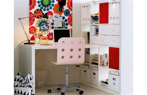 ikea expedit desk ikea bookcases so many ways to use them the decorologist