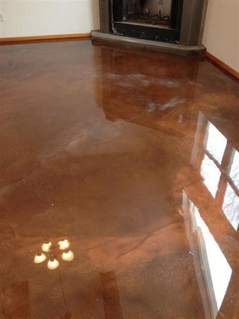 Arizona Concrete Designs, LLC   Reflective Epoxy Interior