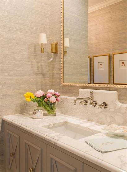 Bathroom Backsplash Powder Bath Rooms Mirror Bathrooms