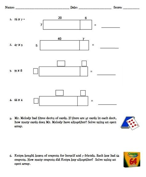 area models for multiplication worksheets area model multiplication worksheets and powerpoint lesson