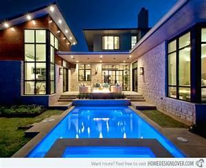Swimmingpool Im Haus : 15 lovely swimming pool house designs decoration for house ~ Sanjose-hotels-ca.com Haus und Dekorationen