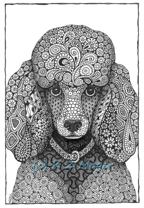 coloriage mandala chien images  pinterest coloring books coloring pages