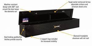 Northern Tool   Equipment Flush Mount Gloss Black Truck