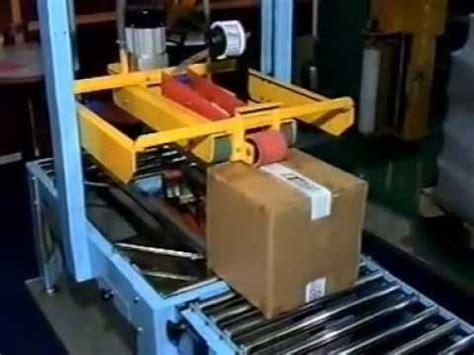 carton sealing machine youtube