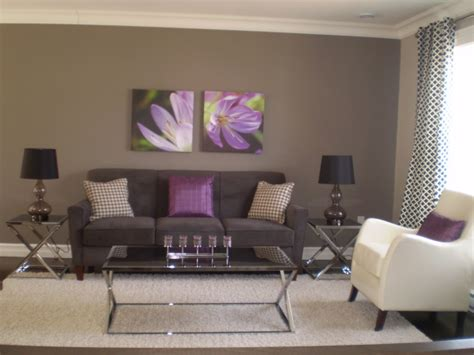 Wohnzimmer Grau Lila by Gray And Purple Living Rooms Ideas Grey Purple Modern