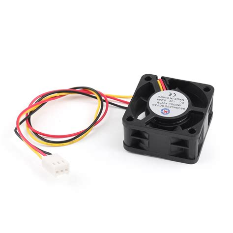 dc brushless fan wiring dc computer fan wiring elsavadorla dc brushless cooling pc computer fan 12v 0 2a 4020b 40x40x20mm 3 wire fan us ebay