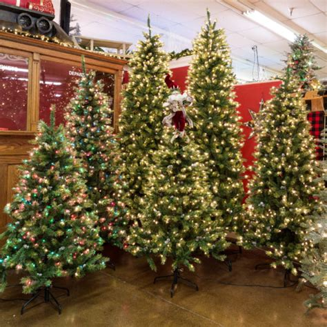 christmas tree store artificial christmas trees