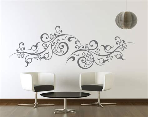 sticker chambre adulte buy large scroll vines wall decal modern graphic