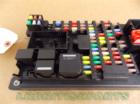Fuse Box Range Rover Sport by Land Rover Fuse Box Passenger Compartment Range Rover