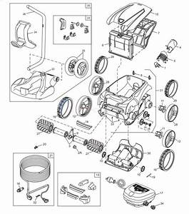 Polaris 9350 Sport Robotic Cleaner Parts