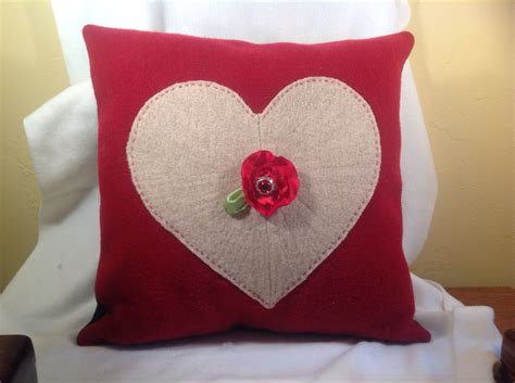 20 charming handmade s day pillow designs