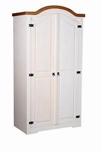 Massivholz Kleiderschrank Weiß : kleiderschrank pinie mexico massivholz schrank trio wasch ~ Lateststills.com Haus und Dekorationen