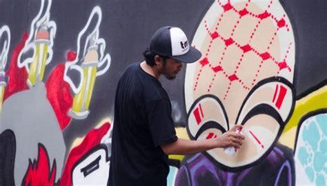 Graffiti Fajar : Gardu House Sediakan Tembok Untuk Para Seniman Graffiti