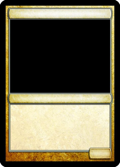 Trading Card Template Magic Trading Card Template Theveliger